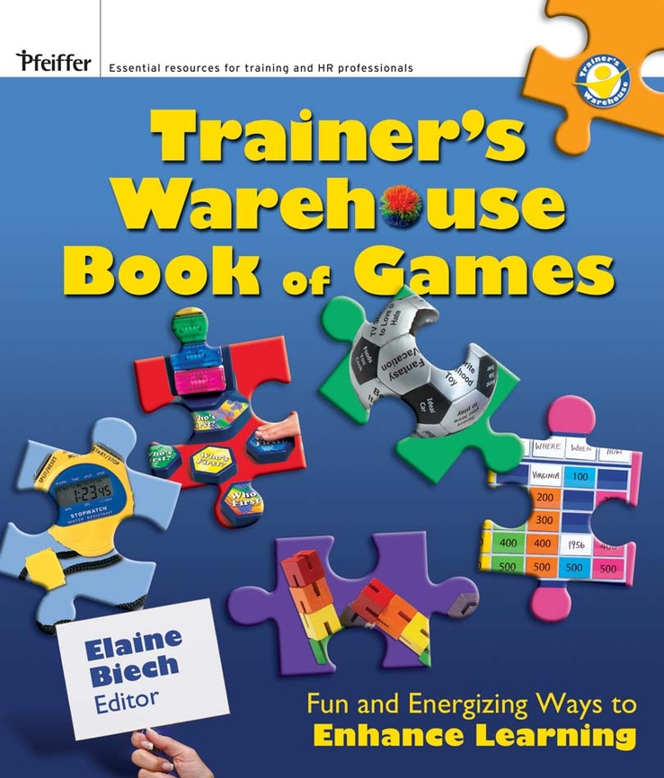 Download Ebook The Trainer's Warehouse Book of Games by Elaine Biech Pdf