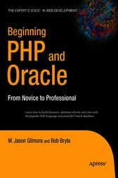 Beginning PHP and Oracle by W Jason Gilmore
