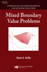 Mixed Boundary Value Problems by Dean G. Duffy
