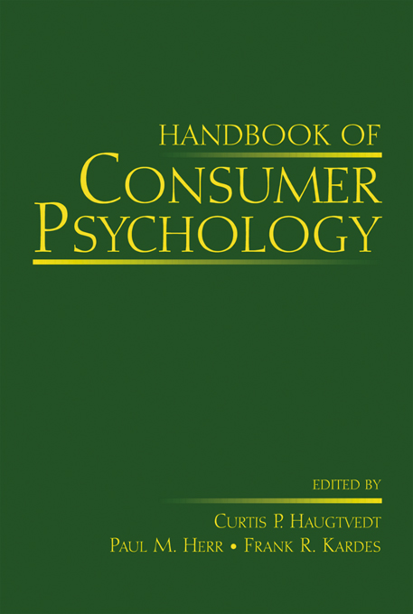 Download Ebook Handbook of Consumer Psychology by Curtis P. Haugtvedt Pdf