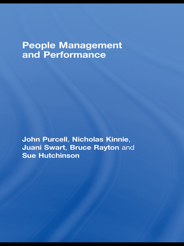 Download Ebook People Management and Performance by John Purcell Pdf