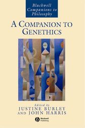 A Companion to Genethics by Justine Burley