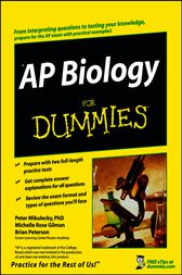 AP Biology For Dummies by Peter J. Mikulecky