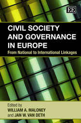 Civil Society and Governance in Europe by W.A. Maloney