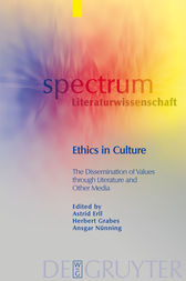 Ethics in Culture by Astrid Erll