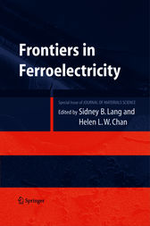 Frontiers of Ferroelectricity by Sidney B. Lang