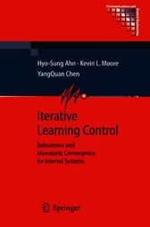Iterative Learning Control by Hyo-Sung Ahn