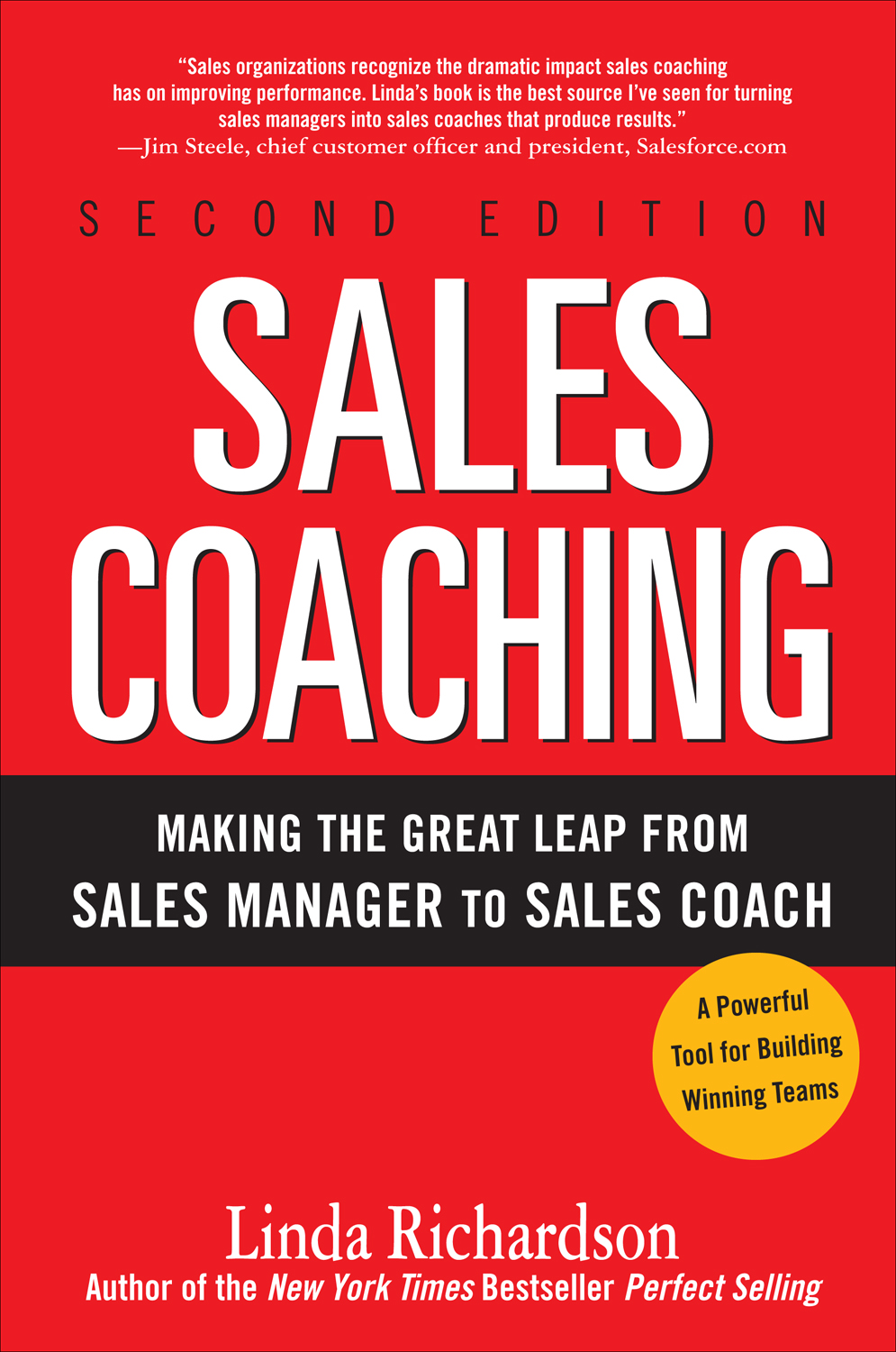 Download Ebook Sales Coaching: Making the Great Leap from Sales Manager to Sales Coach (2nd ed.) by Linda Richardson Pdf