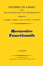 Recursive Functionals by L. E. Sanchis