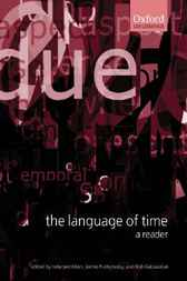 The Language of Time: A Reader by Inderjeet Mani