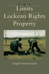The Limits of Lockean Rights in Property by Gopal Sreenivasan