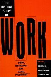 Critical Study Of Work by Rick Baldoz
