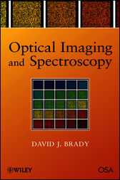 Optical Imaging and Spectroscopy by David J. Brady