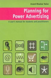 Planning for Power Advertising by Anand Halve