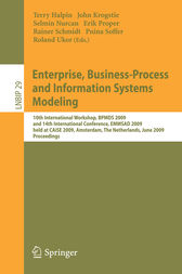 Enterprise, Business-Process and Information Systems Modeling by Terry Halpin