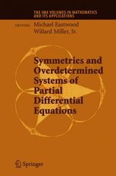 Symmetries and Overdetermined Systems of Partial Differential Equations