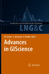 Advances in GIScience by Monika Sester