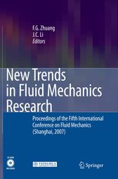 New Trends in Fluid Mechanics Research by F. G. Zhuang