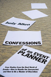 Confessions of an Event Planner by Judy Allen