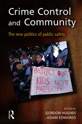 Crime Control and Community by Gordon Hughes