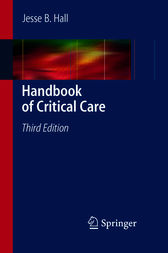 Handbook of Critical Care by Jesse B. Hall