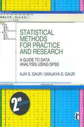 Statistical Methods for Practice and Research by Ajai S Gaur