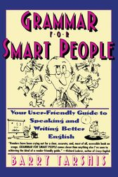 Grammar for Smart People by Barry Tarshis