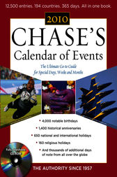 Chase's Calendar of Events 2010 by EDITORS OF CHASE'S