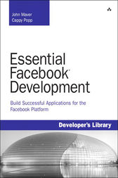 Essential Facebook Development by John J. Maver