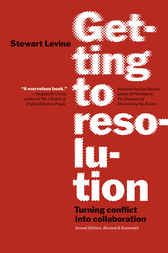 Getting to Resolution by Stewart Levine