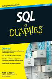 SQL For Dummies by Allen G. Taylor