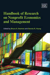 Handbook of Research on Nonprofit Economics and Management by Bruce A Seaman