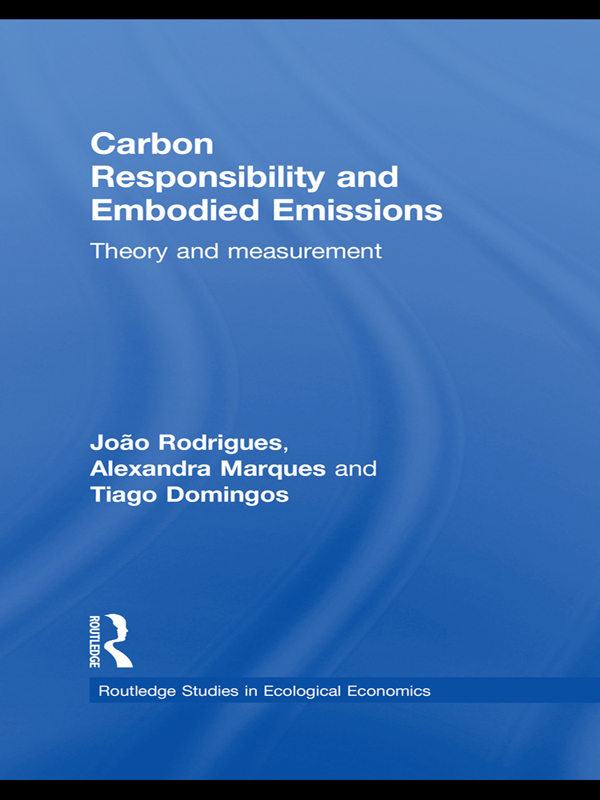 Download Ebook Carbon Responsibility and Embodied Emissions by João F. D. Rodrigues Pdf