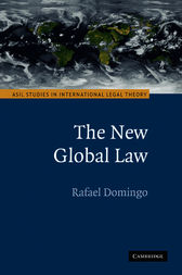 The New Global Law by Rafael Domingo