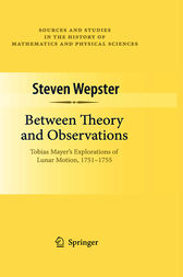 Between Theory and Observations by Steven Wepster