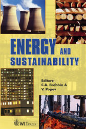 Energy and Sustainability by C. A. Brebbia