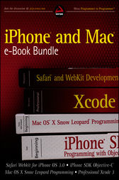 iPhone and Mac Wrox e-Book Bundle by Richard Wagner