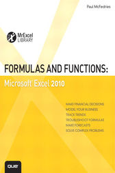 Formulas and Functions by Paul McFedries