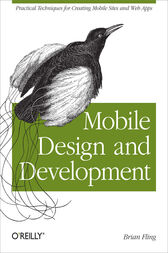 Mobile Design and Development by Brian Fling