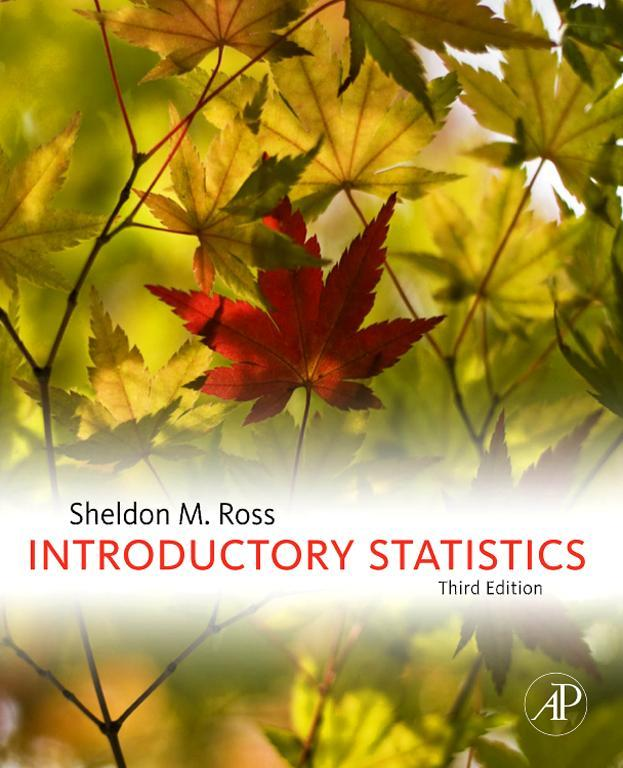 Download Ebook Introductory Statistics (3rd ed.) by Sheldon M. Ross Pdf