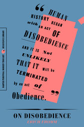 On Disobedience by Erich Fromm
