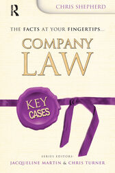 Key Cases: Company Law by Christopher Shepherd