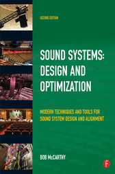 Sound System Design and Optimization by Bob McCarthy