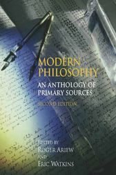 Modern Philosophy by Roger Ariew