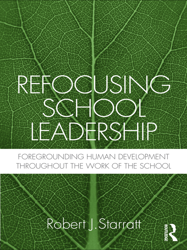 Download Ebook Refocusing School Leadership by Robert J. Starratt Pdf
