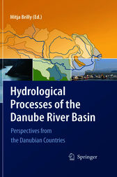 Hydrological Processes of the Danube River Basin by Mitja Brilly