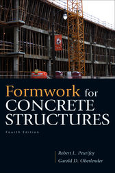 Formwork for Concrete Structures by Garold (Gary) D. Oberlender