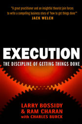 Execution by Larry Bossidy