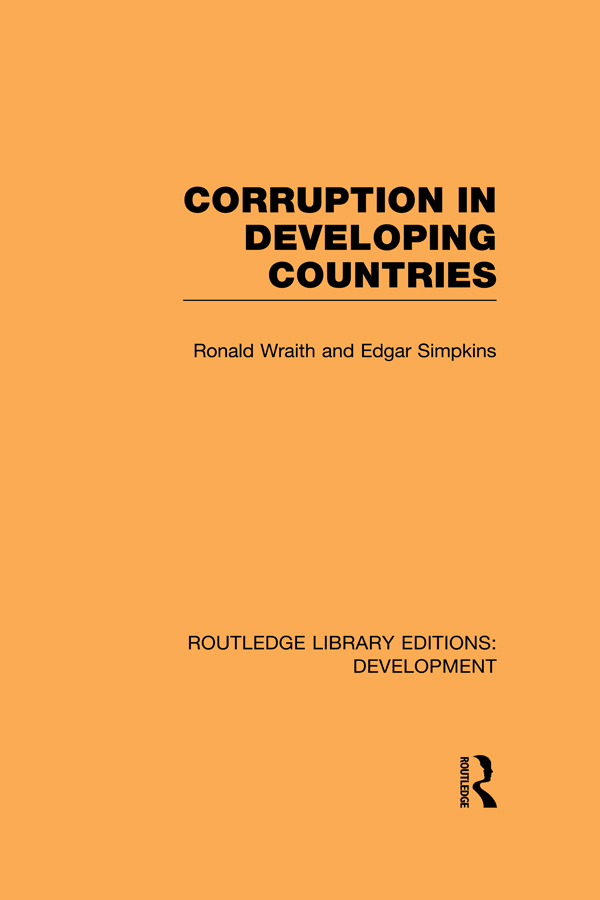 Download Ebook Corruption in Developing Countries by Ronald Wraith Pdf