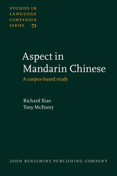Aspect in Mandarin Chinese by Richard Xiao